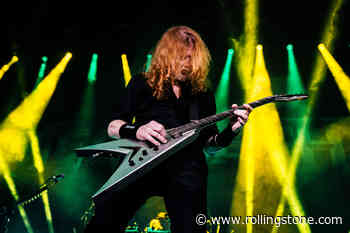Dave Mustaine Confirms New Megadeth Album Title, Teases Song in Cameo