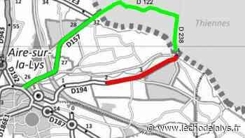 Circulation : Travaux sur la rue de Merville à Aire-sur-la-Lys - L'Écho de la Lys