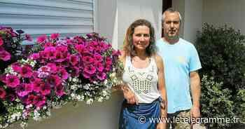 Concours des maisons fleuries à Lanester : une première pour Raphaël et Catherine - Le Télégramme