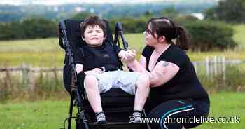 Family of autistic boy with mental age of six-month-old plea for special bed