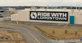 Lordstown Motors lands $400 million investment, startup says     - Roadshow