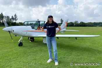 Belgisch-Britse (19) wil als jongste vrouw ooit solo rond de wereld vliegen