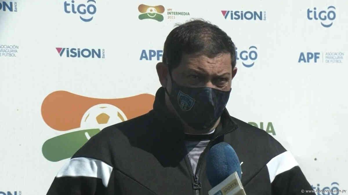 Las sensaciones de Hugo Ovelar, técnico de Atyrá - Tigo Sports