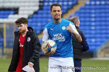 Peterborough United have had no contact from Rangers re Jonson Clarke-Harris for three months, even when the clubs were talking about a powerful centre-back - Peterborough Telegraph