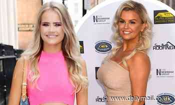 Kerry Katona's daughter Lilly-Sue could be her mum's double as she rocks pink dress