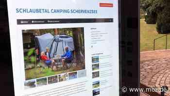 Tourismus in Brandenburg: Digitale Infotafeln informieren in Müllrose und im Schlaubetal Touristen und Einheimische - moz.de