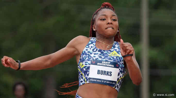 From McDonald's to the Olympics: How Jumper Quanesha Burks Made Her Way to Team USA