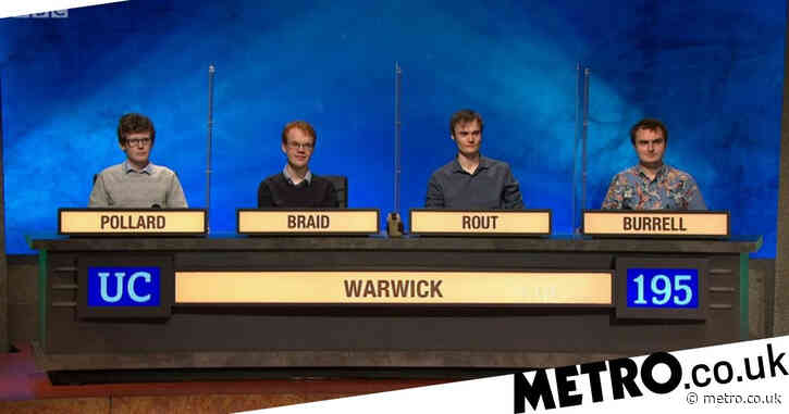How to get on your college team for University Challenge