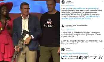 Michael Flynn jokes about assassinating someone in Washington DC