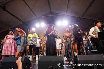 Chaka Khan Sings 'I'm Every Woman' With Allison Russell, Yola, and Amythyst Kiah at Newport Folk Festival