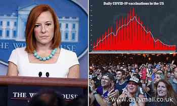 Jen Psaki confirms an 'active discussion' on a range of measures to combat COVID