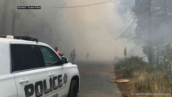 Plane Crash Near Truckee Sparks Small Wildland Fire