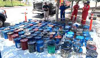 700 gallons of used oil found in Otay Mesa