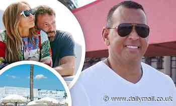 A-Rod and JLo almost dine at the SAME restaurant inSt. Tropez
