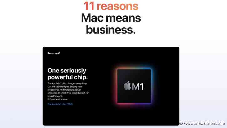 Apple Shares 11 Reasons Why Business Users Should Choose Macs