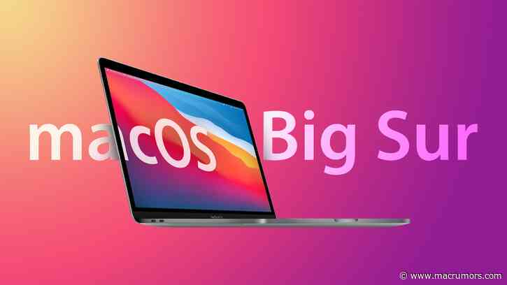 Apple Releases macOS Big Sur 11.5.1 With Security Updates