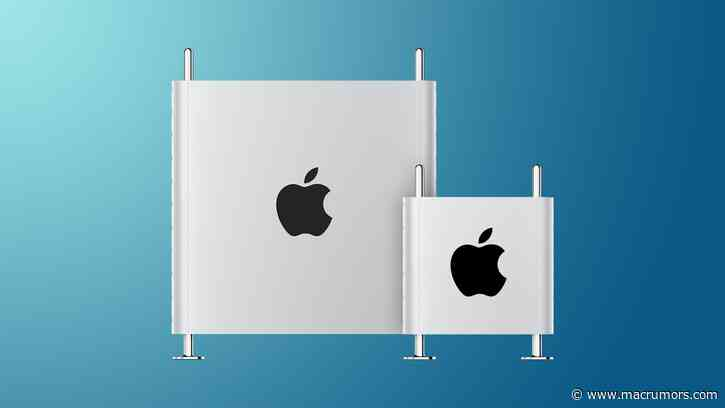 2022 Mac Pro Rumored to Use Intel's Ice Lake Xeon W-3300 Chips