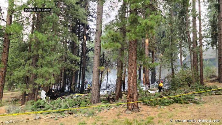 Jet Plane Crash Near Truckee Sparks Small Wildland Fire