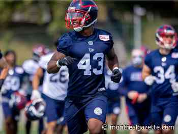 Ahmad Thomas didn't hesitate to take opportunity with Alouettes