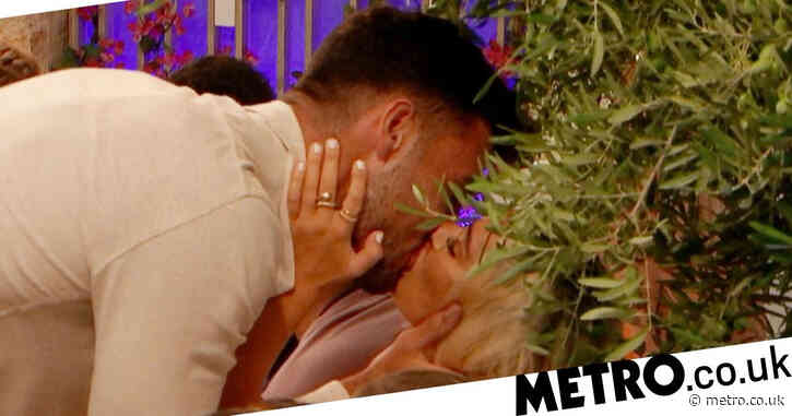 Love Island 2021: Viewers gutted as Liam Reardon has three-way kiss behind Millie Court's back in wild first night at Casa Amor