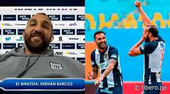 Alianza Lima: Hernán Barcos reveló como nació la celebración de 'El Pirata' - Libero.pe