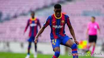 Barca's Moriba racially abused online
