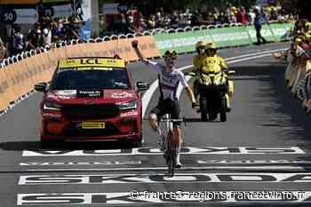Tour de France : à Libourne, Matej Mohoric, de l'équipe Bahrain, vainqueur en solo pour la deuxième fois - France 3 Régions