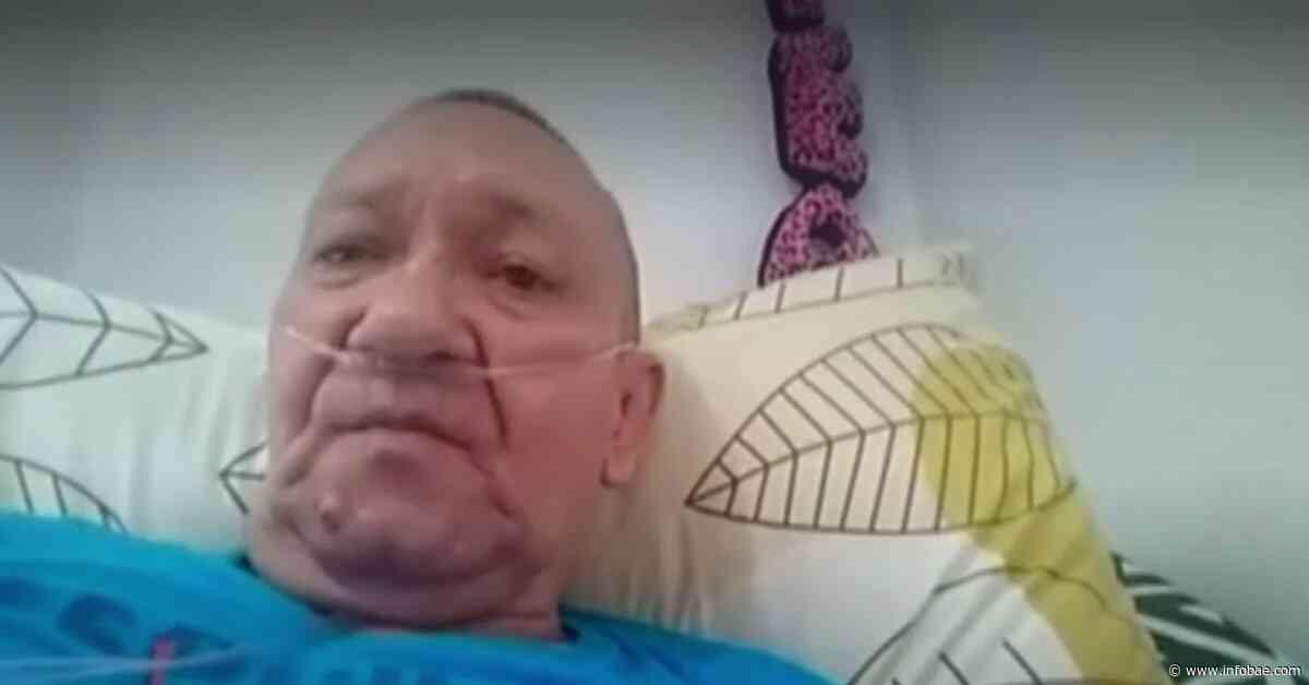 Víctor Escobar, el paciente colombiano sin enfermedad terminal que solicita la eutanasia - infobae