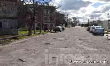 Denuncian el mal estado de las calles del barrio Independencia - Infoeme