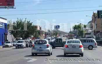 Vialidad, sin reparar semáforo en la Independencia - El Diario de Chihuahua
