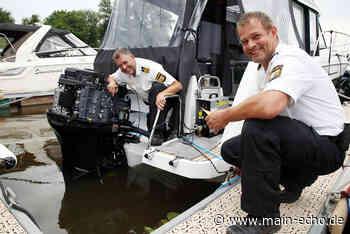 Wasserschutzpolizei Aschaffenburg will mit Aktion dem Diebstahl von Bootsmotoren entgegenwirken - Main-Echo