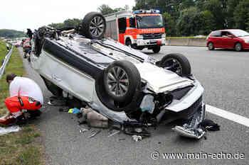 Drei Verletzte und Vollsperrung nach Unfall auf A3 bei Aschaffenburg - Main-Echo
