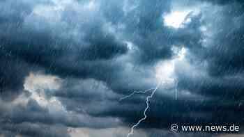 Unwetterwarnung Kulmbach heute: Hohes Gewitter-Risiko! Wetterdienst ruft Warnung aus - news.de
