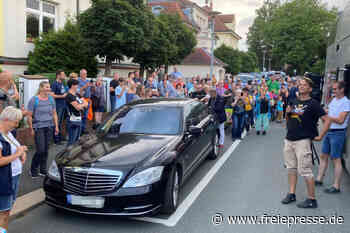 Querdenken-Kundgebung in Plauen von Protesten begleitet - Freie Presse