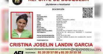 Desaparece joven de 13 años en Guadalupe - ABC Noticias