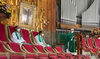 Mons. Lozano le reza a la Virgen de Guadalupe por la arquidiócesis de San Juan - Aica On line