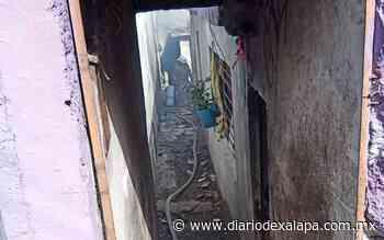 Arde vivienda en colonia de Xalapa - Diario de Xalapa