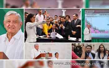 AMLO reconoce acierto del Congreso tras remoción de exfiscal - Diario de Xalapa