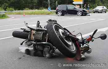 Motorradfahrer bei Unfall auf der L770 in Petershagen schwer verletzt - Radio Westfalica