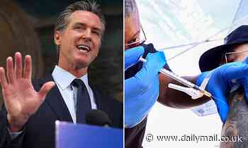 Gavin Newsom compares unvaccinated people to drunk drivers as California mandates vaccines and tests