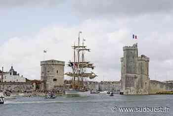La Rochelle : en images, l'arrivée du trois mâts « Le Français » - Sud Ouest