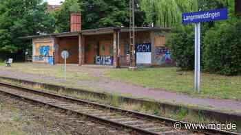 Bauarbeiten: Bahnstrecke Magdeburg – Halberstadt für eine Woche gesperrt - MDR