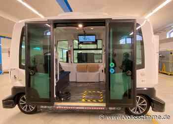 Auftakt für autonome Autofahrt in Magdeburg - Volksstimme