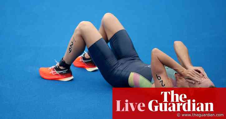 Tokyo Olympics 2020: swimming medals at stake, Bermuda's Duffy wins triathlon and more – live!