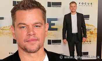 Matt Damon, 50, looks youthful as he attends Stillwater premiere in New York City