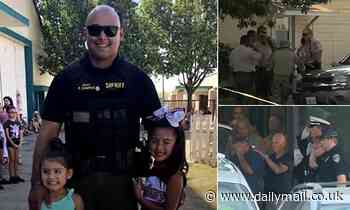 California man shot dead by police after fatally shooting his sons, their mother and deputy in siege