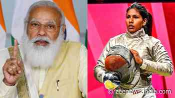 You gave your best and that is all that counts, PM Modi tells fencer Bhavani after Tokyo Olympics loss