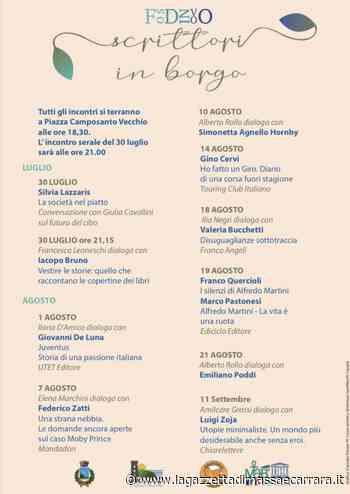 """""""Scrittori in borgo"""": estate culturale a Fosdinovo » La Gazzetta di Massa e Carrara - La Gazzetta di Massa e Carrara"""