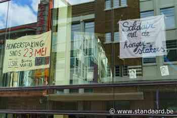Bezetting UFO-gebouw in Gent opgeschort nu hongerstaking afgelopen is - De Standaard