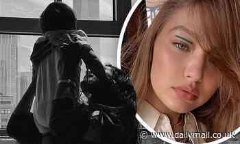 Gigi Hadid shares a breathtaking snap of her supermodel sister Bella lifting daughter Khai